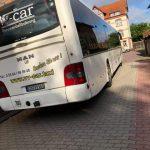 Bus hinten